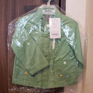 familiar - 新品ファミリア 薄手ジャケット
