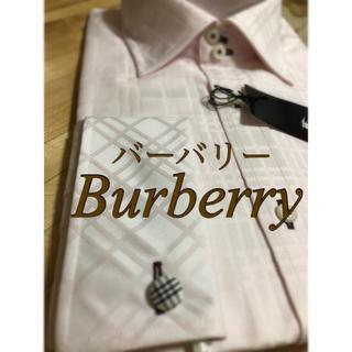 バーバリーブラックレーベル(BURBERRY BLACK LABEL)のバーバリーブラックレーベルのワイシャツ(ピンク)(シャツ)