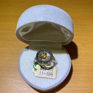 シトリン指輪 サイズ11〜18号②(リング(指輪))