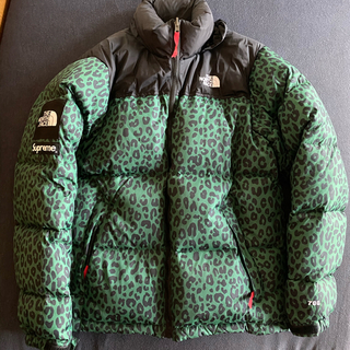 Supreme - Supreme×THE NORTH FACE11aw レオパードヌプシジャケット