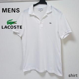 ラコステ(LACOSTE)のLACOSTE ラコステ メンズ 半袖 スリムフィット ポロシャツ 無地(ポロシャツ)
