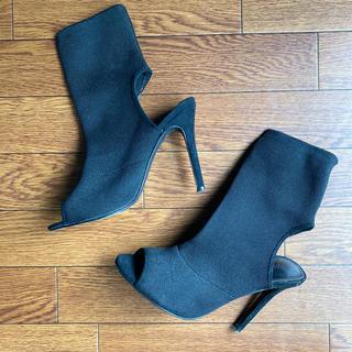 エイチアンドエム(H&M)のソックスブーツ(ブーツ)