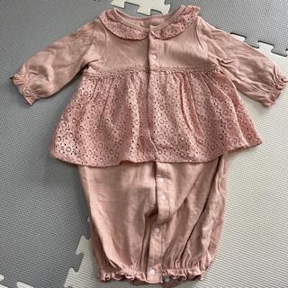 ブランシェス 女の子 ベビー服 ツーウェイオール 2way ベビードレス