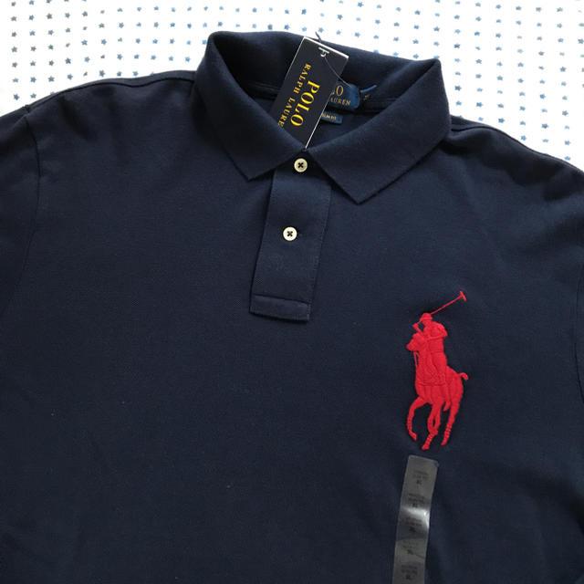 Ralph Lauren(ラルフローレン)のラルフローレン メンズポロシャツ ネイビーXL メンズのトップス(ポロシャツ)の商品写真