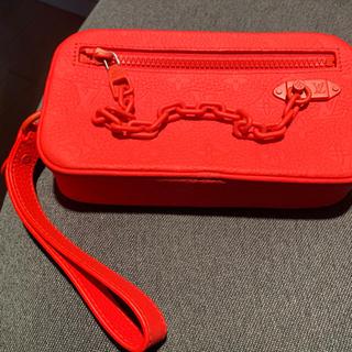LOUIS VUITTON - 【超美品】ルイヴィトン M53555  ポシェット ヴォルガ セカンドバッグ 赤