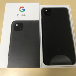 ANDROID - Google Pixel 4a【美品・ほぼ未使用】