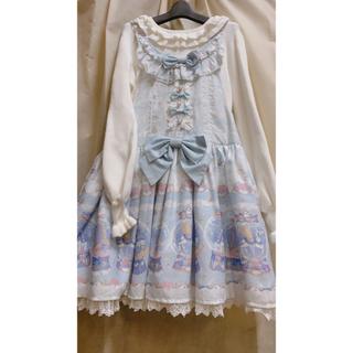 アンジェリックプリティー(Angelic Pretty)のサロペット sax ジャンパースカート(サロペット/オーバーオール)