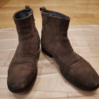 ディーゼル(DIESEL)のDIESEL レザーソールスエードブーツ サイズ45(ブーツ)
