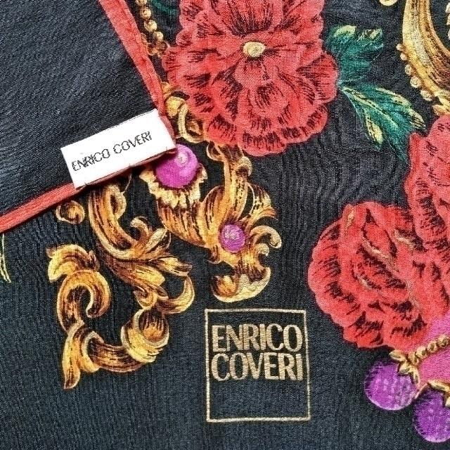 ENRICO COVERI(エンリココベリ)のENRICO COVERI シルクスカーフ レディースのファッション小物(バンダナ/スカーフ)の商品写真