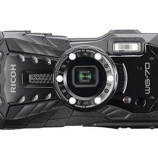 リコー(RICOH)のリコー RICOH RICOH WG-70 [ブラック](コンパクトデジタルカメラ)
