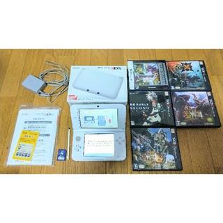 任天堂 - Nintendo 3DS  LL 本体 ホワイト おまけ付き