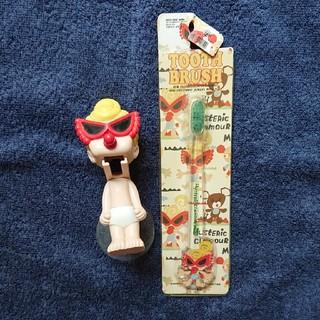 ヒステリックミニ(HYSTERIC MINI)のヒスミニ 歯ブラシ & スタンド セット(キャラクターグッズ)