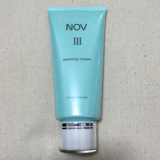 ノブ(NOV)のノブ Ⅲ ウォッシングクリーム 120g(洗顔料)
