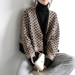 Lily Brown - 定価10800円‼︎ヴィンテージニットカーディガン【新品】