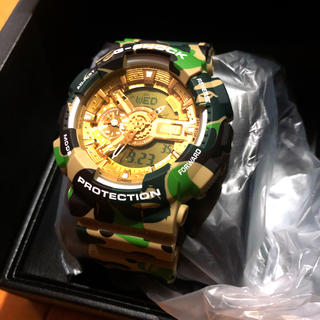 A BATHING APE - A BATHING APE 25周年G-SHOCK 限定 CASIO