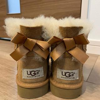 アグ(UGG)の【美品】UGG   アグキッズ ミニベイリー 15cm(ブーツ)