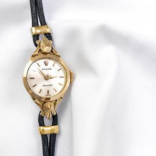 ロレックス(ROLEX)の【仕上済】ロレックス プレシジョン カクテルウォッチ K18 レディース 時計(腕時計)