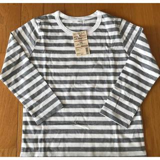 ムジルシリョウヒン(MUJI (無印良品))の☆ボーダーカットソー☆(Tシャツ/カットソー)