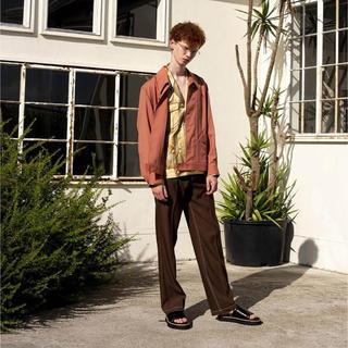 アンユーズド(UNUSED)のdairiku 20ss ドラゴン刺繍シャツジャケット(シャツ)