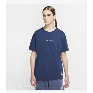フラグメント(FRAGMENT)のfragment × JORDAN ブルー ショートスリーブ Tシャツ (Tシャツ/カットソー(半袖/袖なし))