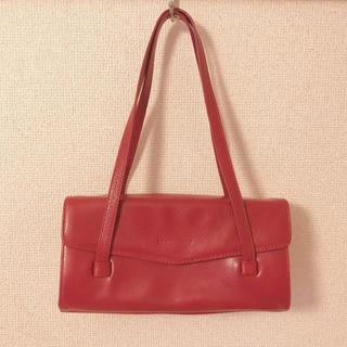 イエナ(IENA)の最終 Vintage leather bag フランス製 本革バッグ(ハンドバッグ)