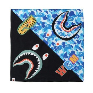A BATHING APE - ABCcamo シャーク バンダナ A BATHING APE