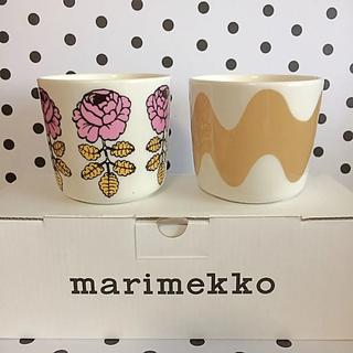 マリメッコ(marimekko)の♡マリメッコ  ラテマグ ロッキ ヴィヒキルース marimekko(食器)
