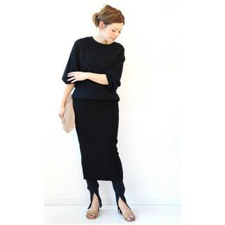 ドゥーズィエムクラス(DEUXIEME CLASSE)のDeuxieme Classe   cut and sewn  スカート(ひざ丈スカート)
