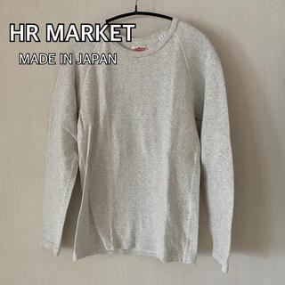 ハリウッドランチマーケット(HOLLYWOOD RANCH MARKET)のHOLLYWOOD RANCH MARKET ストレッチフライス ロングTシャツ(Tシャツ(長袖/七分))