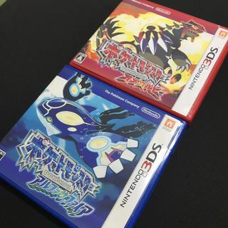 ニンテンドー3DS(ニンテンドー3DS)のポケットモンスター オメガルビー&アルファサファイア 3DS(携帯用ゲームソフト)