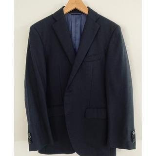 スーツカンパニー(THE SUIT COMPANY)のスーツカンパニー 紺色 ジャケット 165 d4 drop4(テーラードジャケット)