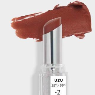 フローフシ(FLOWFUSHI)のUZU  by FLOWFUSHI リップ −2 新品未使用 ウズ フローフシ(口紅)