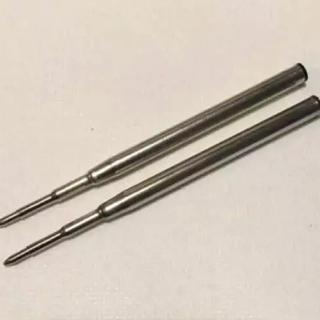 モンブラン(MONTBLANC)のモンブラン互換油性ボールペン替芯 中字黒 2本セット 即購入OK値引不可(ペン/マーカー)