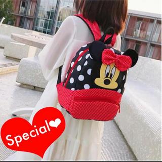 ミニーちゃん リュック 長く使えるジャストサイズ 入園 入学 バッグ カバン