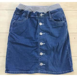 エムピーエス(MPS)のMPSデニムスカート  130cm(スカート)