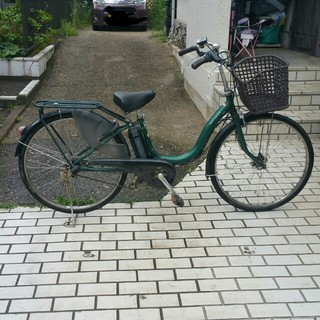 ヤマハ(ヤマハ)の◆電動アシスト自転車.YAMAHA.PAS.Natura.26型◆(自転車本体)