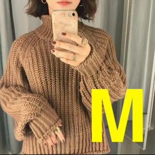 H&M - ◆完売◆H&M チャンキーニット リブニットハイネックセーター Mサイズ