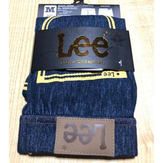 リー(Lee)の再値下げ‼️【新品】Lee メンズボクサーブリーフ M   ネイビー(ボクサーパンツ)