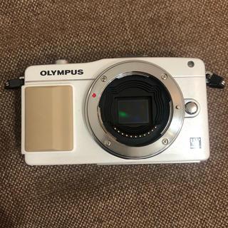 OLYMPUS - デジタル一眼レフ オリンパスペンミニ E-PM2 ジャンク品