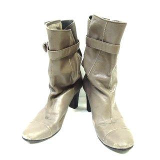 グレースコンチネンタル(GRACE CONTINENTAL)のグレースコンチネンタル ブーツ 38 グレー(ブーツ)