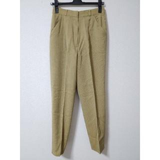 クリスチャンディオール(Christian Dior)のクリスチャンディオール テーパード パンツ スラックス スーツ ハイウエスト(カジュアルパンツ)