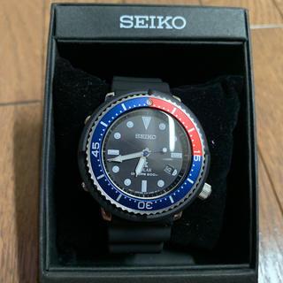 セイコー(SEIKO)のSセイコー PROSPEX ベイクルーズ別注40周年記念モデル  1回着用 (腕時計(アナログ))
