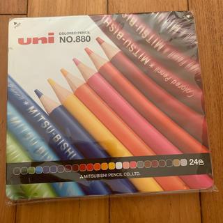 ミツビシエンピツ(三菱鉛筆)の三菱色鉛筆 NO.880 24色(色鉛筆)