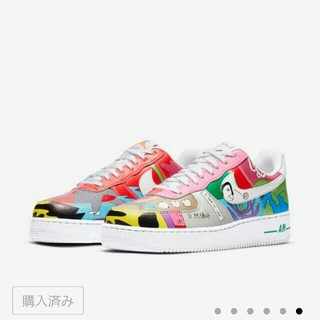 NIKE - 27cm RUOHAN WANG × NIKE AIR FORCE 1