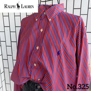 ラルフローレン(Ralph Lauren)の90'sラルフローレン  BDシャツ No.325(シャツ)