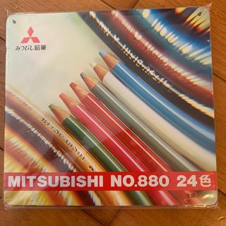 ミツビシエンピツ(三菱鉛筆)の三菱色鉛筆 24色(色鉛筆)
