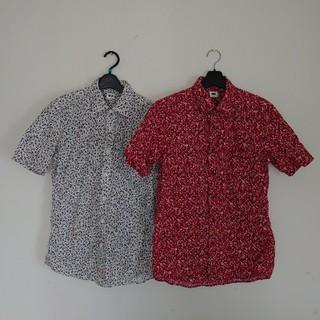 ユニクロ(UNIQLO)のユニクロ コットンシャツ 2枚組 フラワープリント(シャツ)