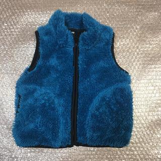 UNIQLO - ユニクロ ボアベスト 80センチ ブルー