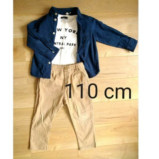 サマンサモスモス(SM2)の男の子 シャツ 110cm~120cm サマンサモスモス 中古品(Tシャツ/カットソー)