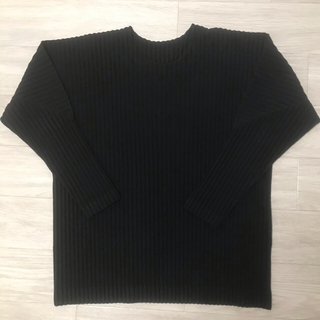 イッセイミヤケ(ISSEY MIYAKE)のIssey Miyake homme plisse プリーツ ロンT(Tシャツ/カットソー(七分/長袖))